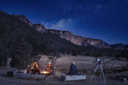 Private Stargazing and Campfire