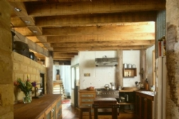 The Straw Bale House Kitchen