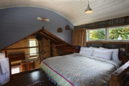 The Milking Shed Loft Bedroom