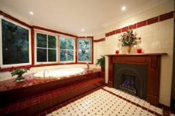 Leura Rose master bathroom
