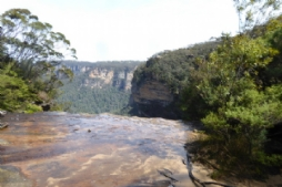 Top od Wentworth Falls