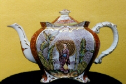 Geisha girl - first teapot in collection