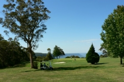 Golf at adjacent Leura Golf Club