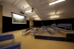 Cinema with surround sound