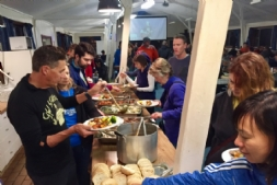 Mountain Camp centre catering