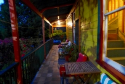 Verandah in the evening