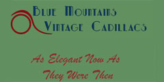 Blue Mountains Vintage Cadillacs