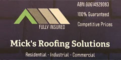 Mick's Roofing Solutions