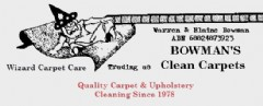 Bowmans Clean Carpets