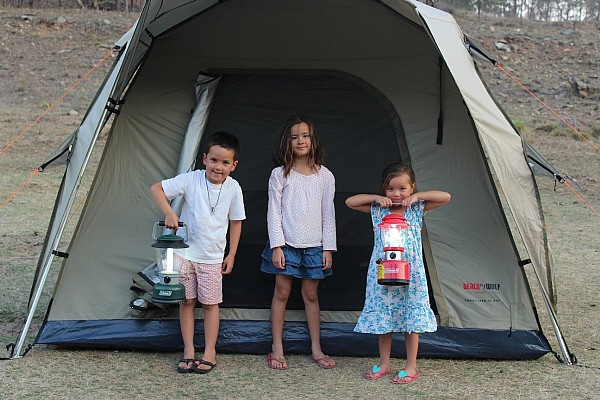 Family Camping Adventure
