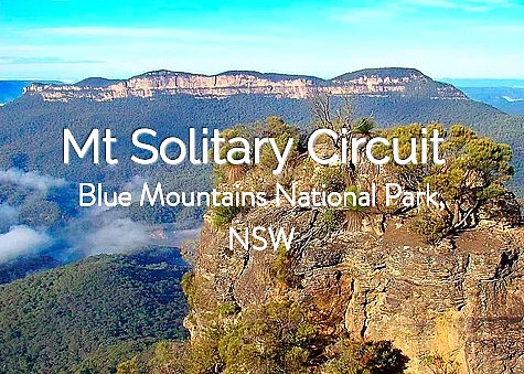 Mt Solitary Circuit