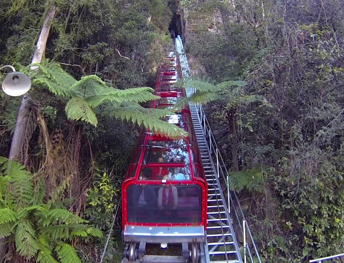 sydney blue mountains train - photo#4