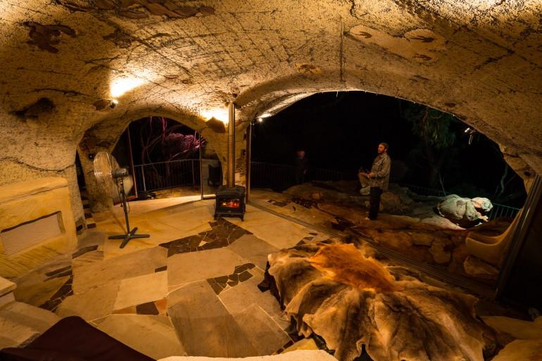 Lionel Buckett S Spectacular Clifftop Cave Blue