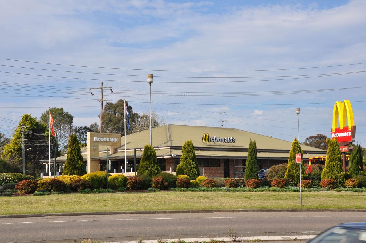 Blaxland McDonalds