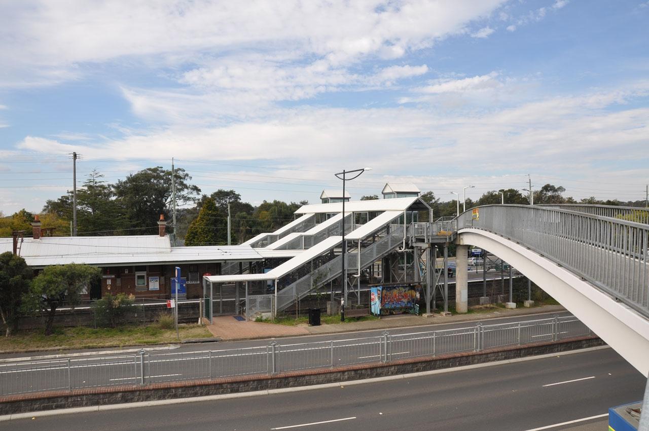 Blaxland Railway Station