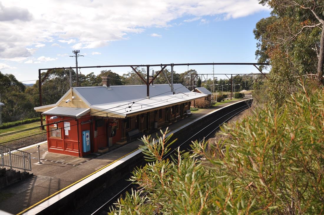 Linden Railway Station