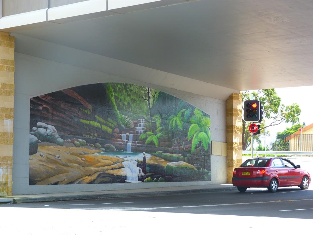 Hazelbrook Community Mural