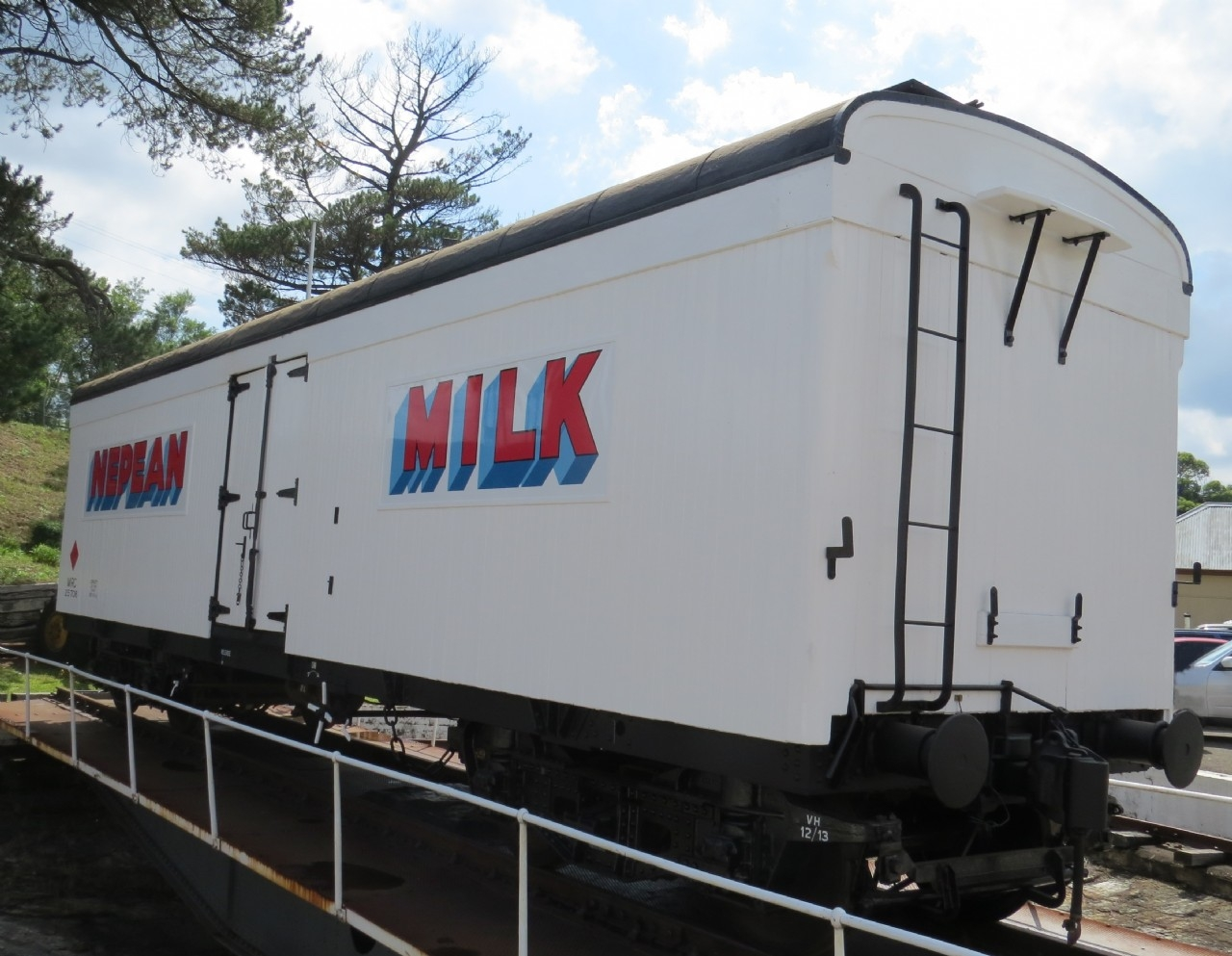 MRC Milk Van - Photo Courtesy of Valley Heights Locomotive Depot Heritage Museum