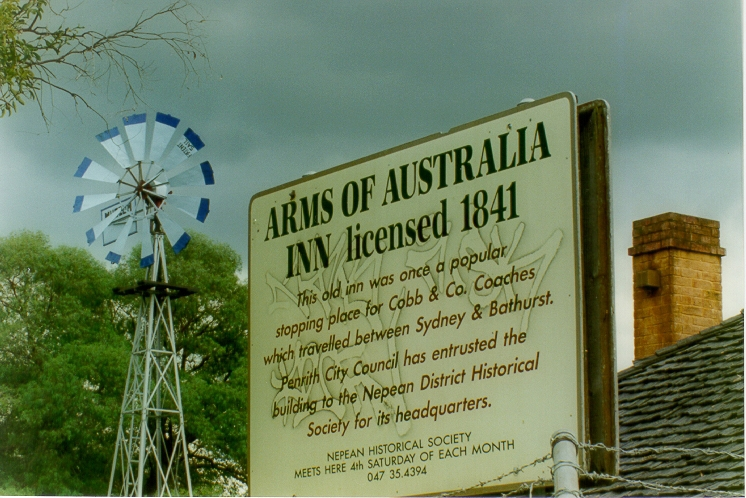 Arms of Australia Inn