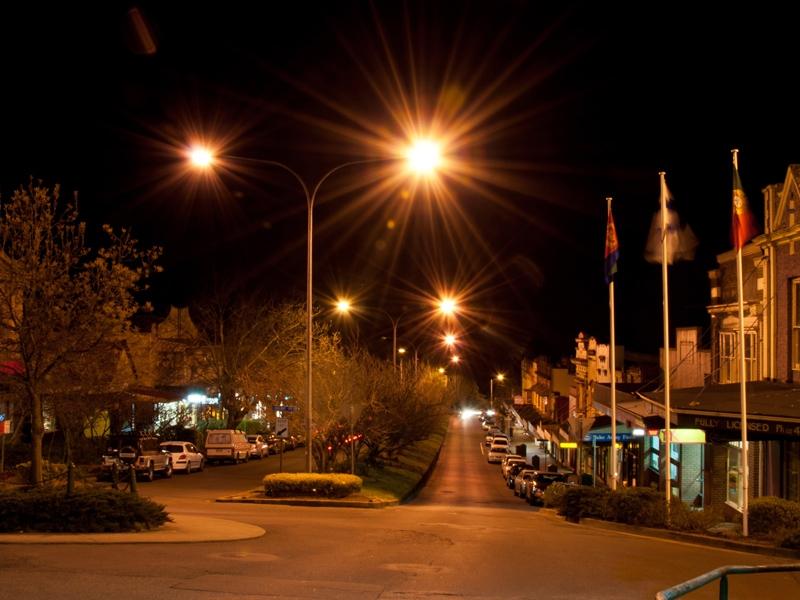 Leura Mall by Night