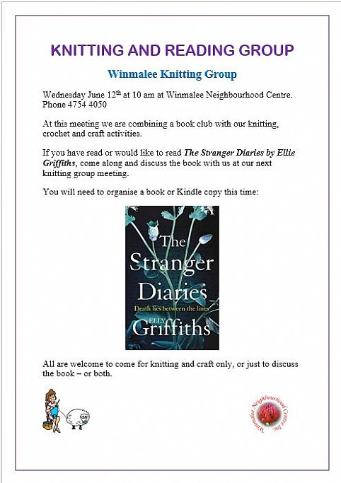 Winmalee Knitting And Reading Group Blue Mountains
