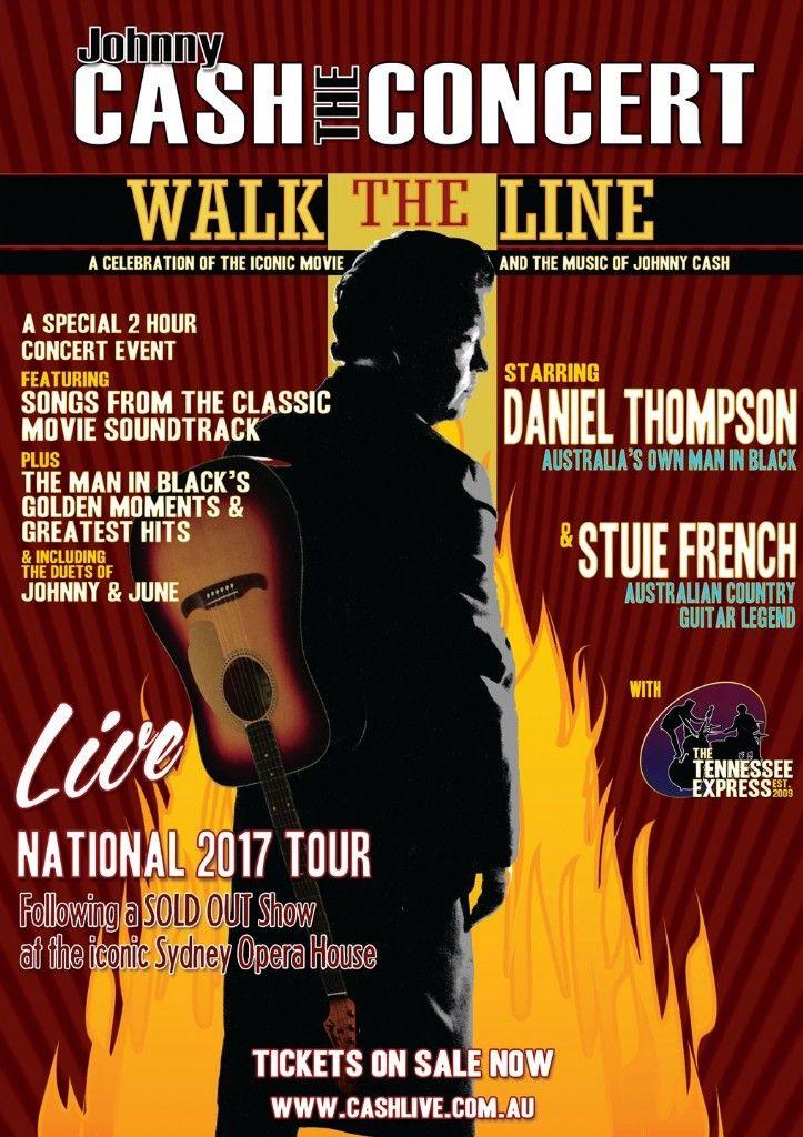 Johnny Cash The Concert – Walk The Line - Blue Mountains Australia
