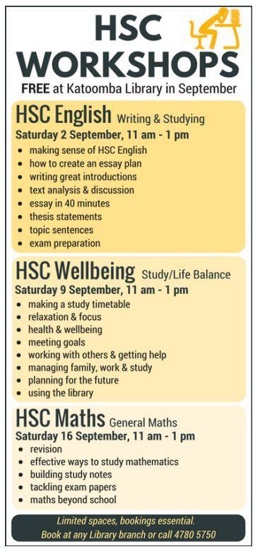 hsc wellbeing study life balance blue mountains  hsc wellbeing study life balance