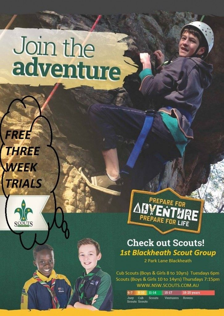 Join The Adventure - Free Three Week Trials
