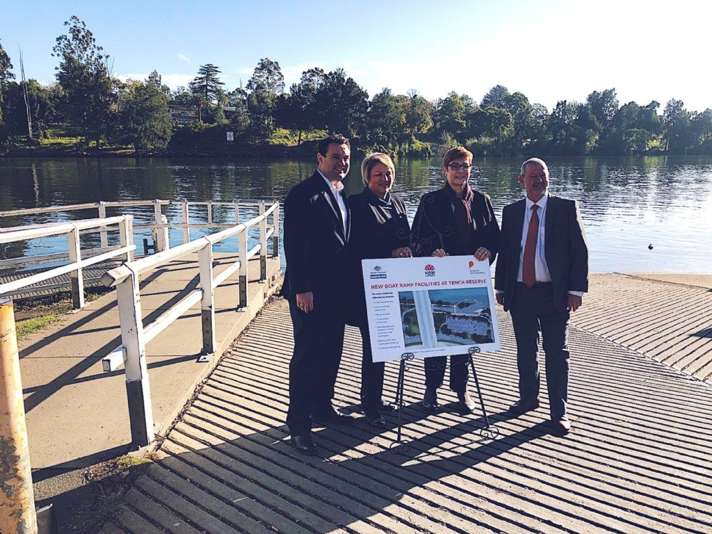 Boating Gets Better at Tench Reserve