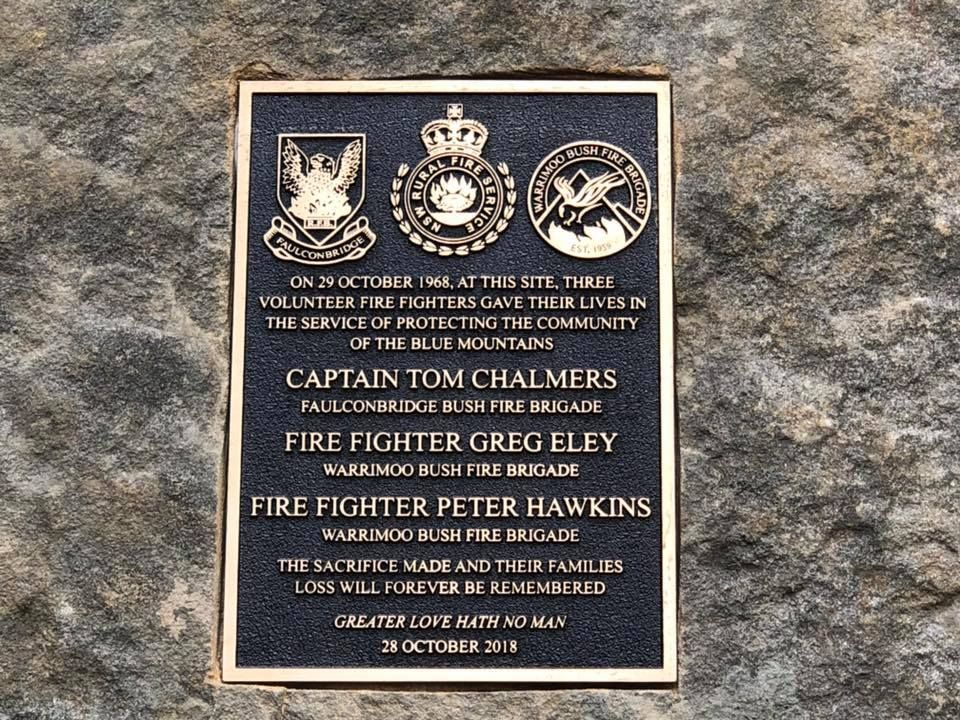 Memorial Commemorates the 50th Anniversary of Firefighter Deaths