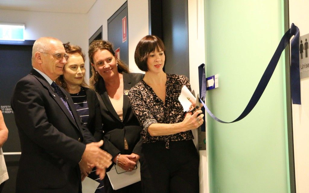 Adult Change Facility Opened at Blue Mountains Theatre and Community Hub