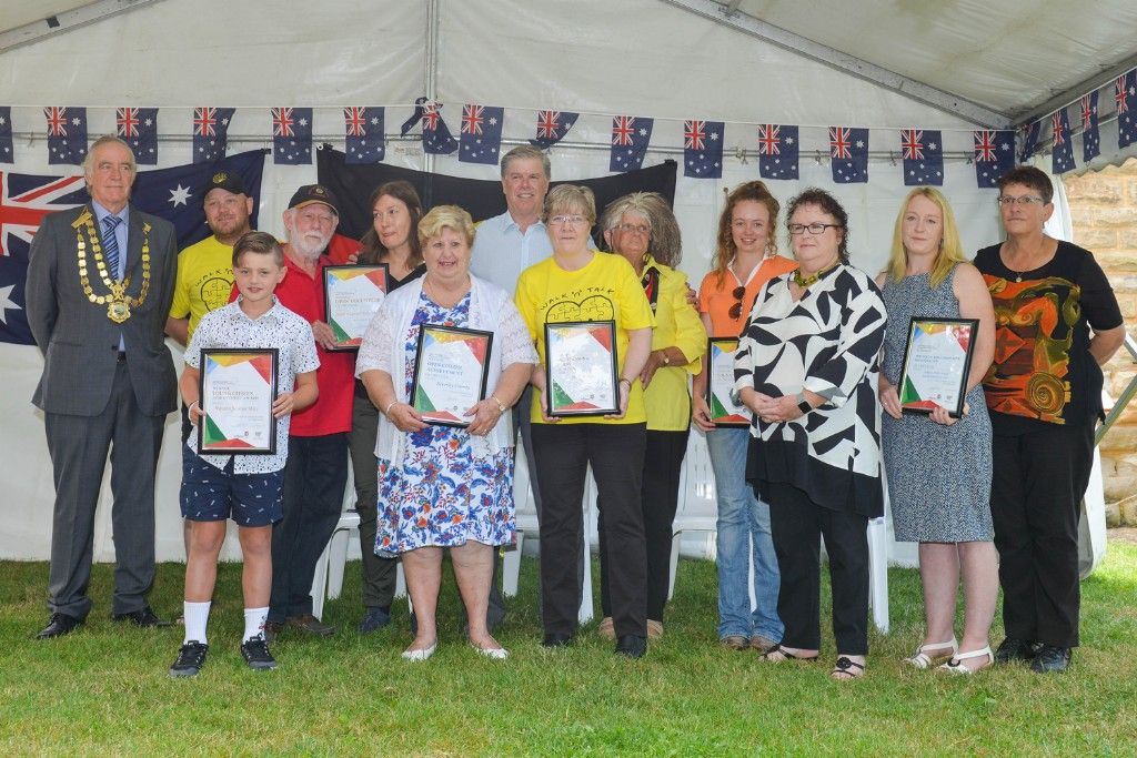 Australia Day Citizenship and Local Citizenship Awards Celebrated