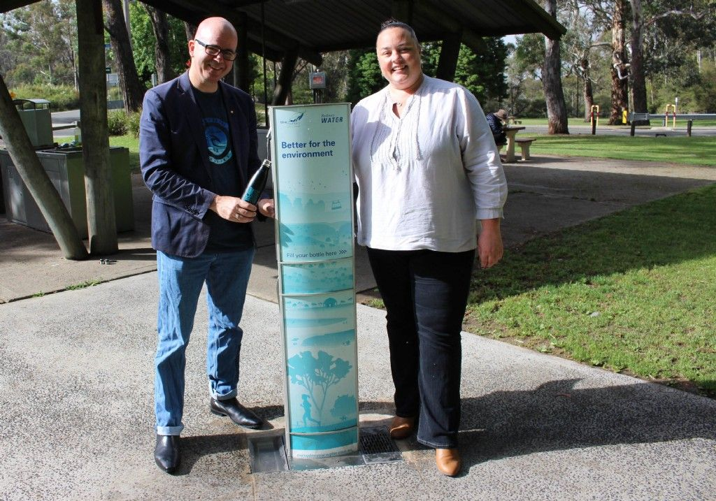 Council and Sydney Water Partner to Provide Water Refill Stations