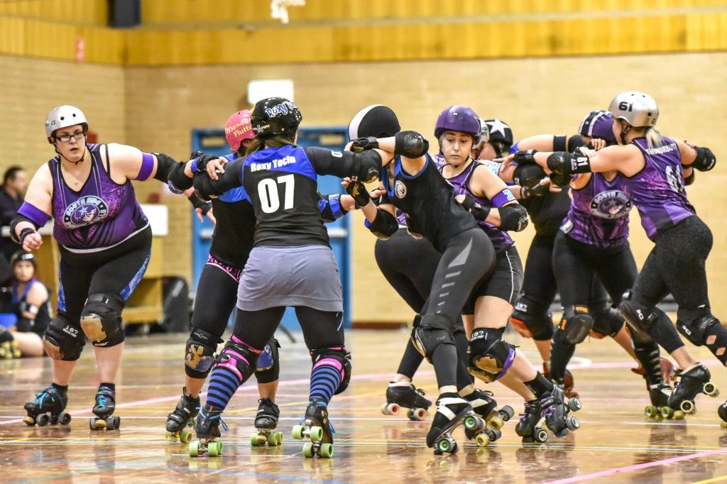 Blue Mountains Roller Derby in Armageddon