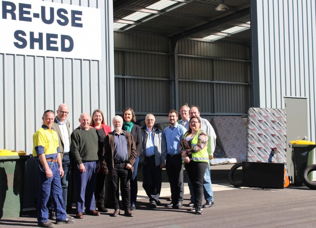 Less Waste To Landfill With Blaxland Waste Management Facility  Upgrade