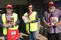 Selling Big Issue to Highlight Homelessness