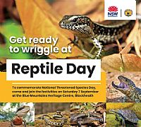 Get ready to wriggle at Reptile Day 2019!