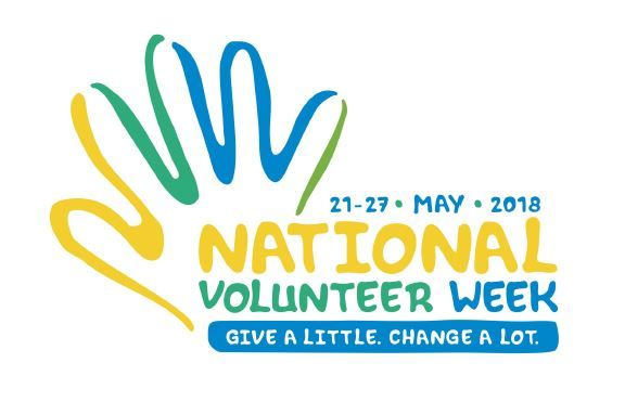 National Volunteers Week 21-27 May 2018