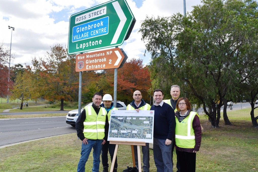 Work Starts on Glenbrook Intersection Upgrade