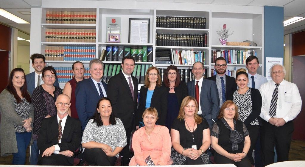 Attorney General Visits Legal Aid Penrith
