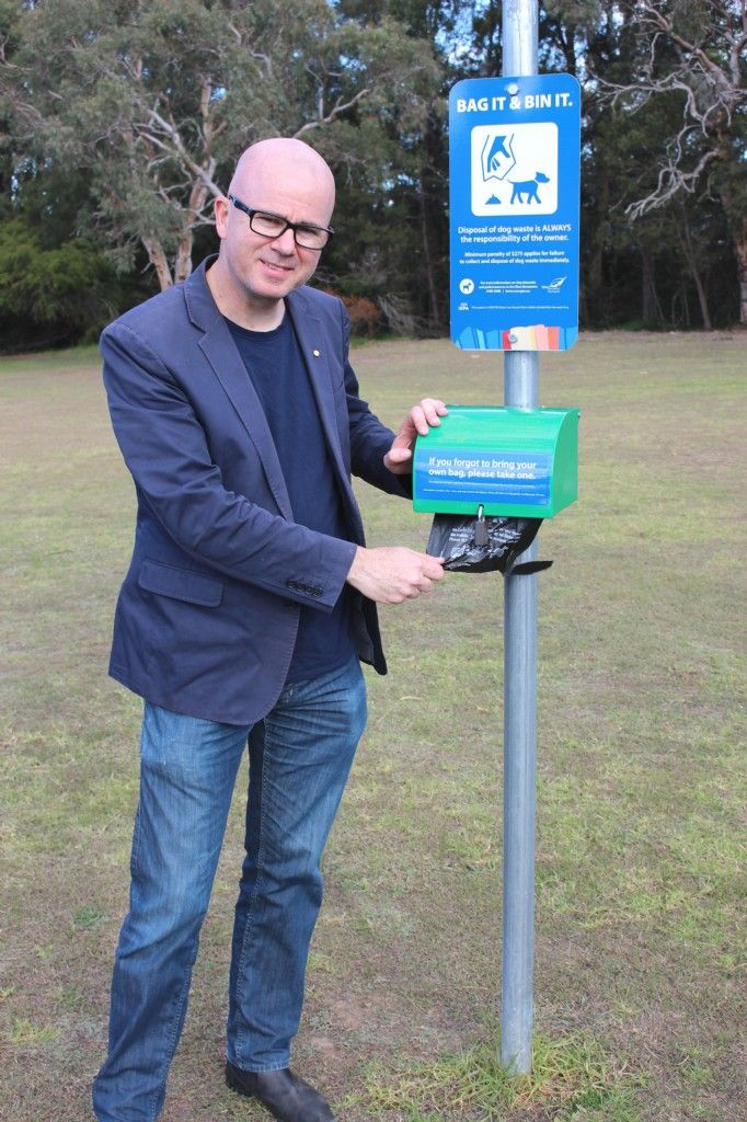 Council and Community Roll Out Dog Waste Bag Dispensers Across City