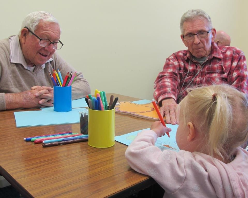 Intergenerational Playgroup Launched in Portland
