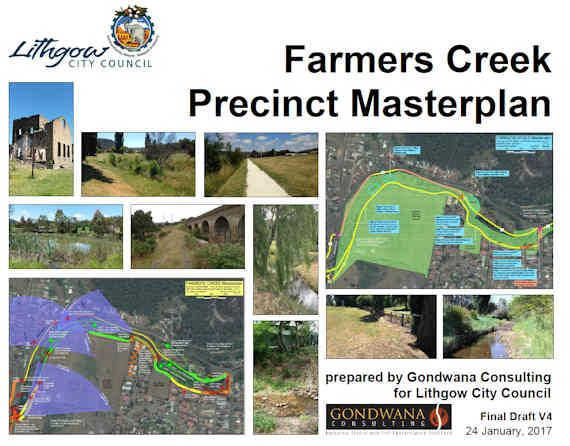 Have Your Say on Council's Farmers Creek Precinct Masterplan