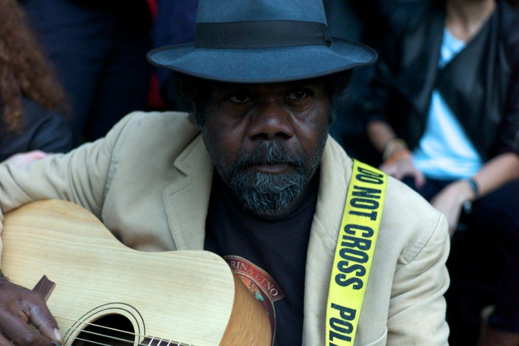 Frank Yamma in Concert at Hotel Blue