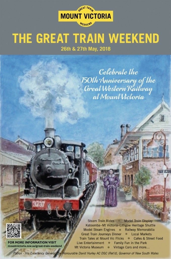Mount Victoria Great Train Weekend 2018