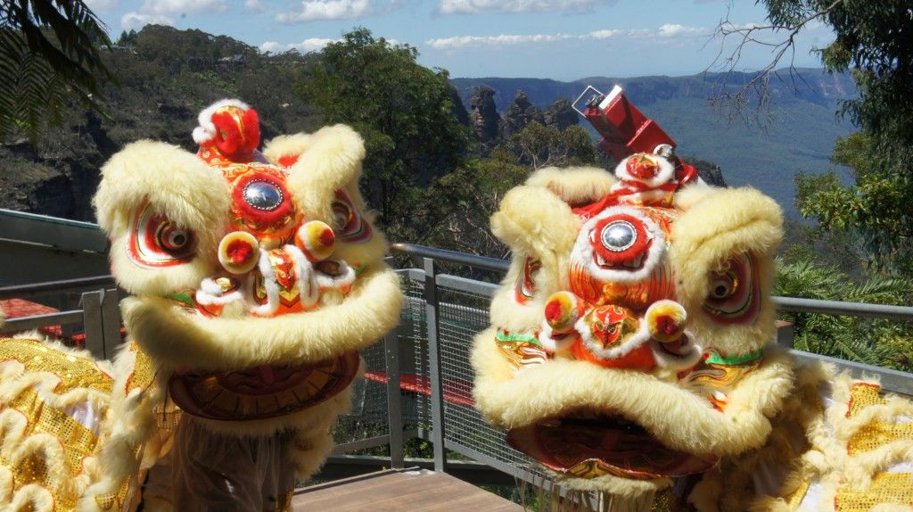Celebrate the Year of the Dog at Scenic World in the Blue Mountains