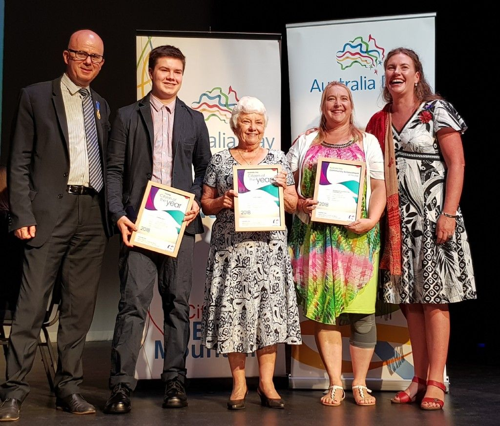 Outstanding Citizens and New Citizens Recognised in Blue Mountains
