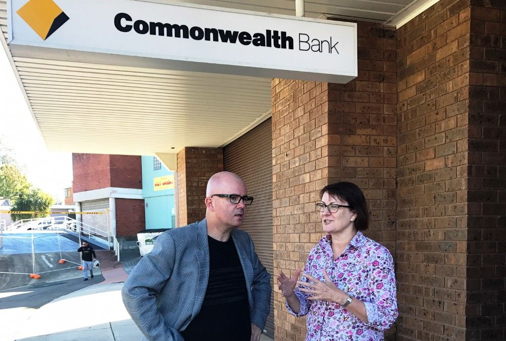 Mayor Calls for Comm Bank to Rethink Closure in Blaxland