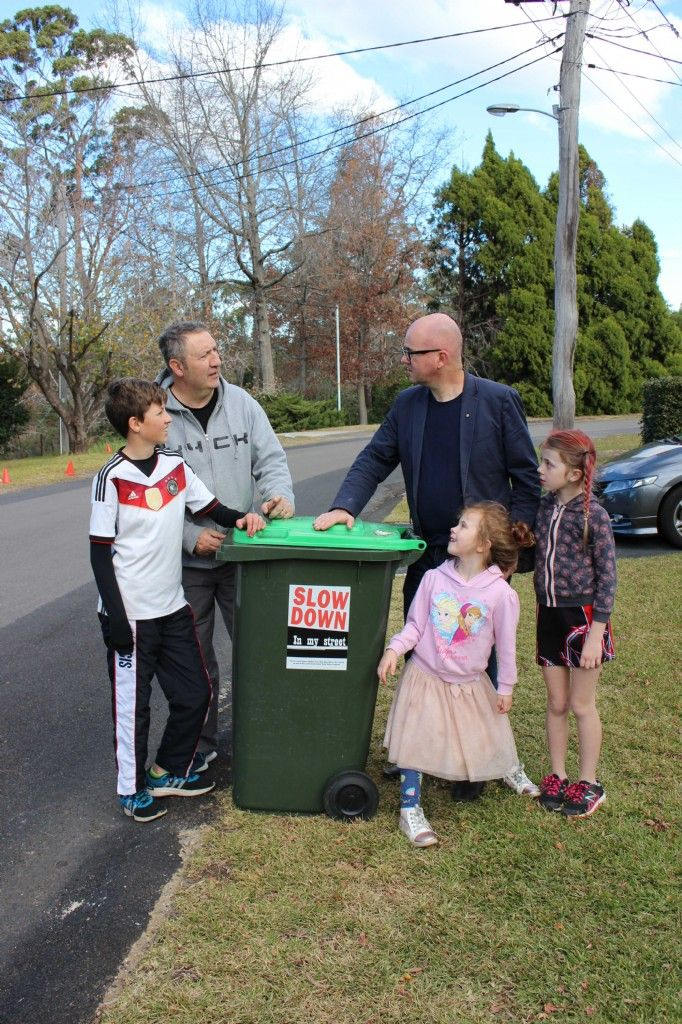 Slow Down in My Street Campaign Keeps Local Roads Safe
