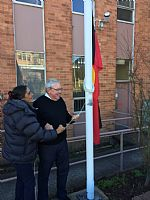Aboriginal Flag Raising for NAIDOC Week